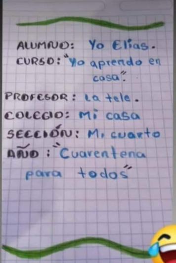 Cartula de cuaderno